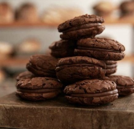 Double Chocolate Brookie Sandwiches (Box of 6)